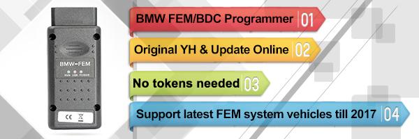 Yanhua YH V1.4 BMW-FEM BMW FEM/BDC OBD Car Key Programmer