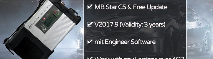 Xentry Connect C5 Benz