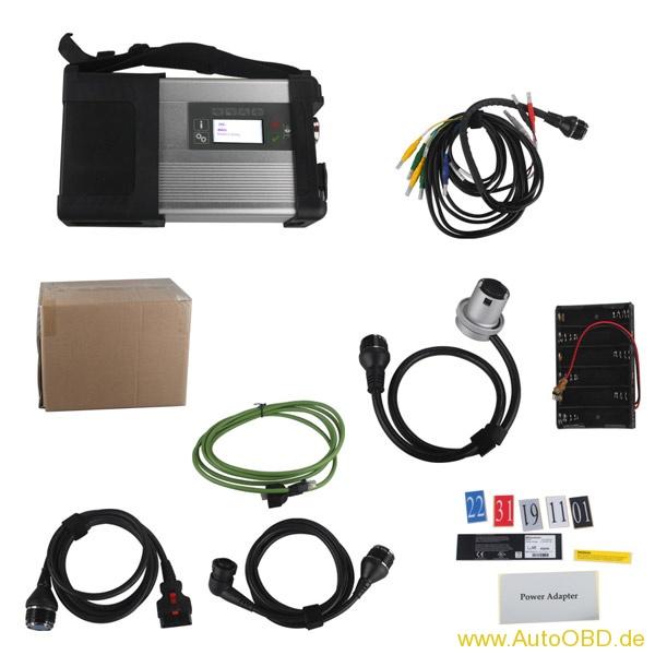 Fake MB SD C5 mit C4-Software