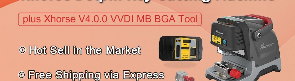 Dolphi Key Cutter and VVDI MB BGA Tool