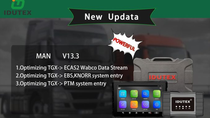 IDUTEX TS910 Auto Smart Diagnostic Platform
