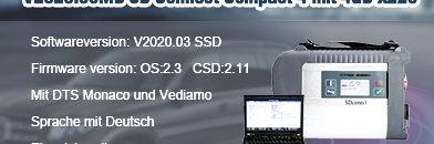 V2020.03 sdc4 mit X220