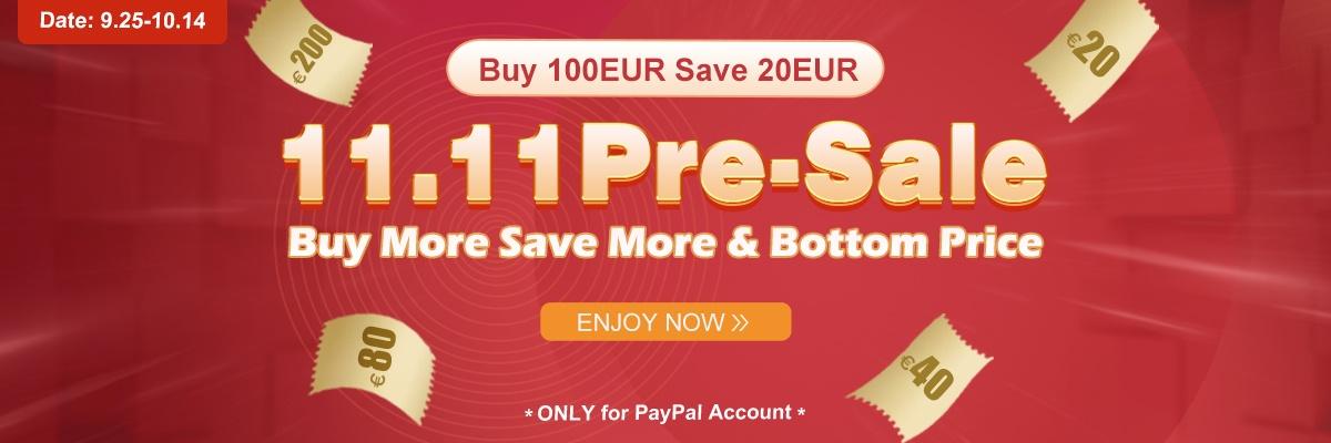 11.11 Pre-Sale